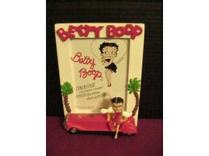 Betty Boop Picture Frame Talking Limo Design