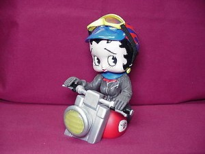 Betty Boop Bobber Biker Design (retired)