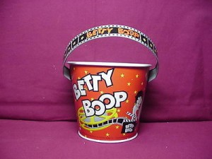 Betty Boop Tin Bucket Mini Film Strip Design (retired)
