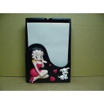 Betty Boop Memo Box Heart Kisses Design