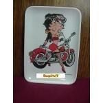 Betty Boop Coin Tray Biker Design