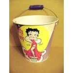 Betty Boop Pail With Handle - Fur Gown Design (retired)