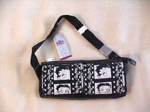 Betty Boop Fanny Pack Film Strip Design