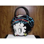 Betty Boop Pocketbook / Purse #97 Biker Face Design Vinyl