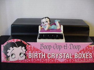 Betty Boop Birthstone Box 12 December (retired)