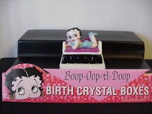 Betty Boop Birthstone Box 12 December (retired)