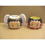 Betty Boop Votive Candle Set Angel/devil Design (retired)
