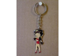 Betty Boop Key Chains Lot #31 Biker Winking Designs Two Pieces.