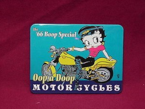 Betty Boop Magnets Lot #32 Two Pieces 66 Boop Special Design (retired Items)
