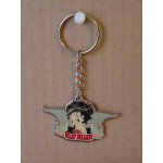 Betty Boop Key Chains Lot #35 Biker Heart Breaker Design Two Pieces.