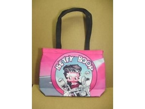 Betty Boop Tote Bag Biker Design Large (retired Item)
