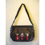 Betty Boop Pocketbook / Purse #50 Multi Poses Design Black