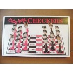 Betty Boop Checker Board Game (retired Item)