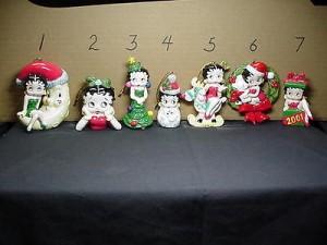 Betty Boop Ornament Mistletoe Design # 2 (retired Item)
