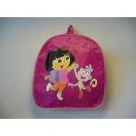 Dora The Explorer And Boots Back Pack Dark Pink
