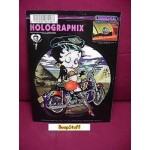 Betty Boop Sticker Holographix Biker Design