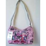 Betty Boop Pocketbook / Purse #15 Hobo Bag Biker Gas Can Design Pink