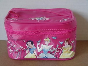 Princess Make Up Bag #05 Dark Pink