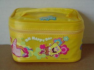 Sponge Bob Square Pants Make Up Bag #04 Yellow