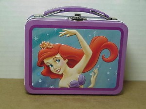 Little Mermaid Mini Lunch Box Dancing Design #04