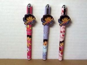 Dora The Explorer Pens Three (3) Piece Set #01