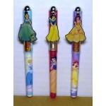 Princess Pens Three (3) Piece Set #07 Cinderella, Snow White & Belle, Design