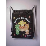 Care Bears Book Bag / Cinch Sack Black #38