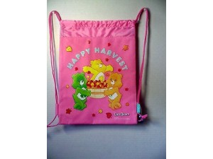 Care Bears Book Bag / Cinch Sack Pink #37