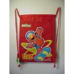 Elmo Book Bag / Cinch Sack Red #35