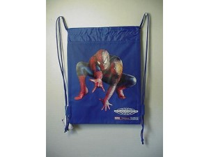 Spiderman - Book Bag / Cinch Sack Blue #41