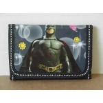 Batman Mini Tri Fold Wallet Black #33
