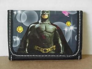 Batman Mini Tri Fold Wallet Black #33