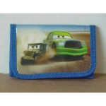 Cars Mini Tri Fold Wallet Blue #22