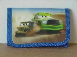 Cars Mini Tri Fold Wallet Blue #22