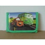 Cars Mini Tri Fold Wallet Green #23