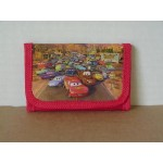 Cars Mini Tri Fold Wallet Red #20
