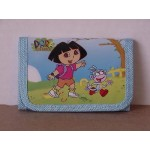 Dora The Explorer Mini Tri Fold Wallet Blue #14
