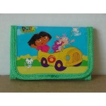 Dora The Explorer Mini Tri Fold Wallet Green #13