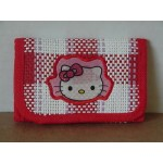 Hello Kitty Mini Tri Fold Wallet Red #40