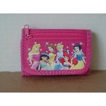 Princess Arora Mini Tri Fold Wallet Dark Pink #08
