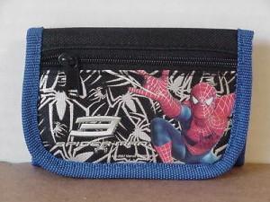 Spiderman-3 Spiders Mini Tri Fold Wallet Blue #30