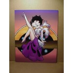 Betty Boop Post Card #05 Leg Up Design 8x10
