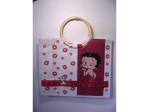 Betty Boop Tote Bag Kisses Design