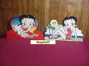 Betty Boop Post Cards Two Piece Set #04 Die Cut (retired)