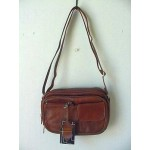Pocketbook / Purse #18 Shoulder Bag Brown 3013