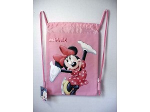Minnie Mouse Book Bag / Cinch Sack Pink #09