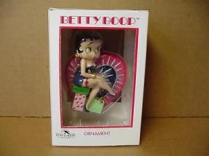 Betty Boop Ornament Heart 244