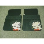 Betty Boop Front Car Mats Face Design 1-pair