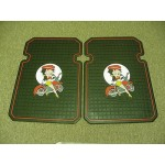 Betty Boop Front Heavy Duty Floor Mats Biker Design 1-pair