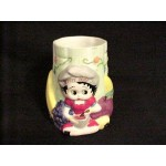Betty Boop Vase/utensil Holder (retired Item)